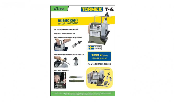 Tormek T4 Buschcraft
